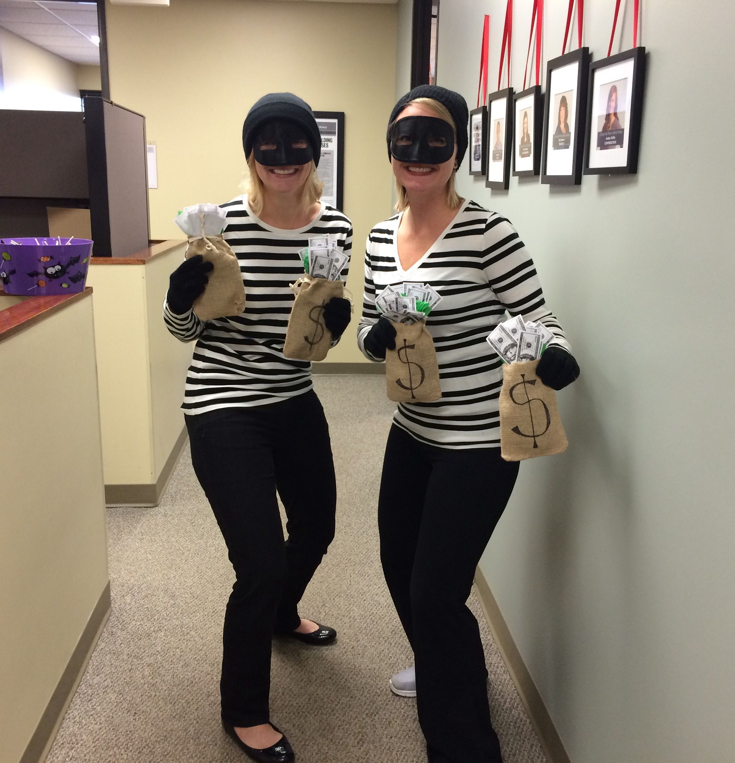 creative halloween costume for the office | partners in crime