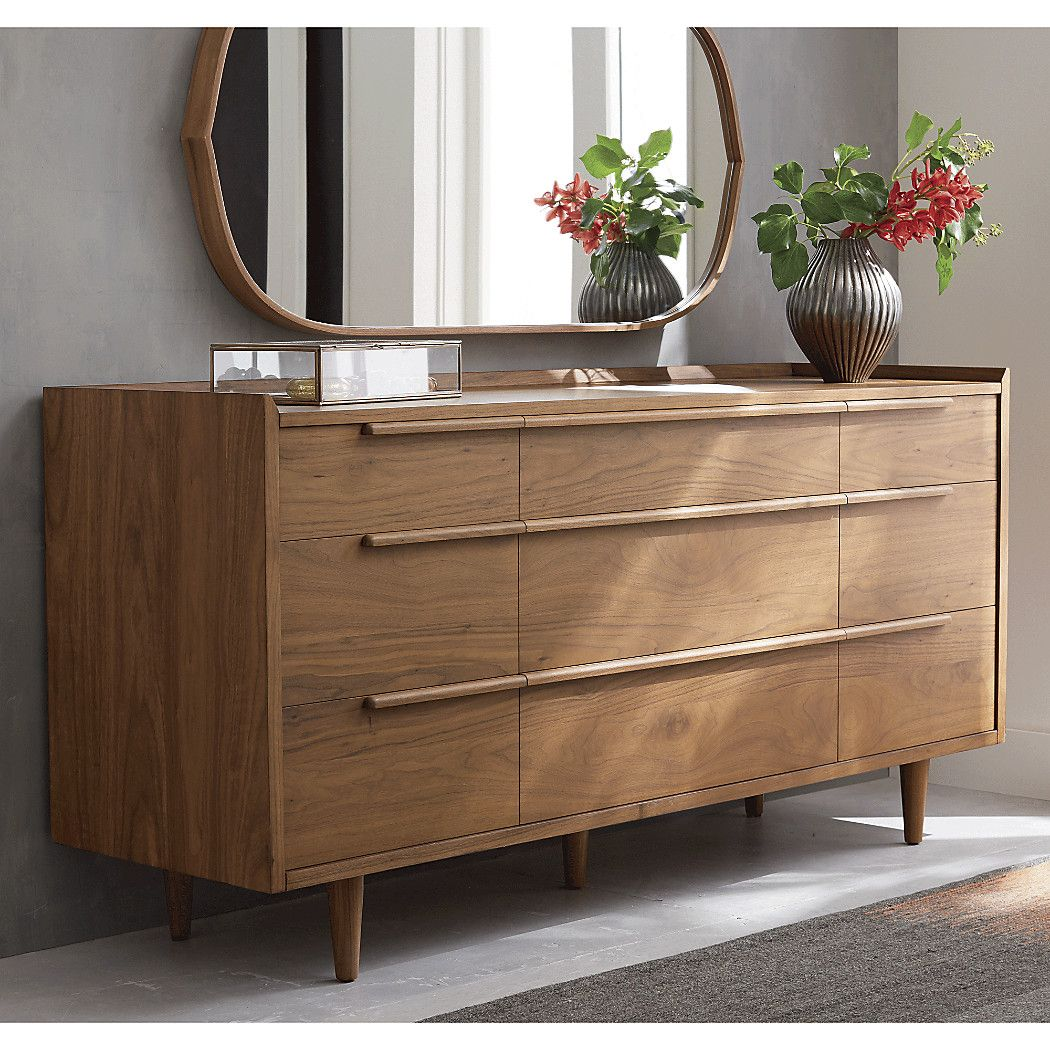 Shop Tate 9 Drawer Dresser The Horizontal Dresser Presents A Continuous Front With Nine Drawers Of Varying Size Designed By Blake Tovin The Tate 9 Drawer