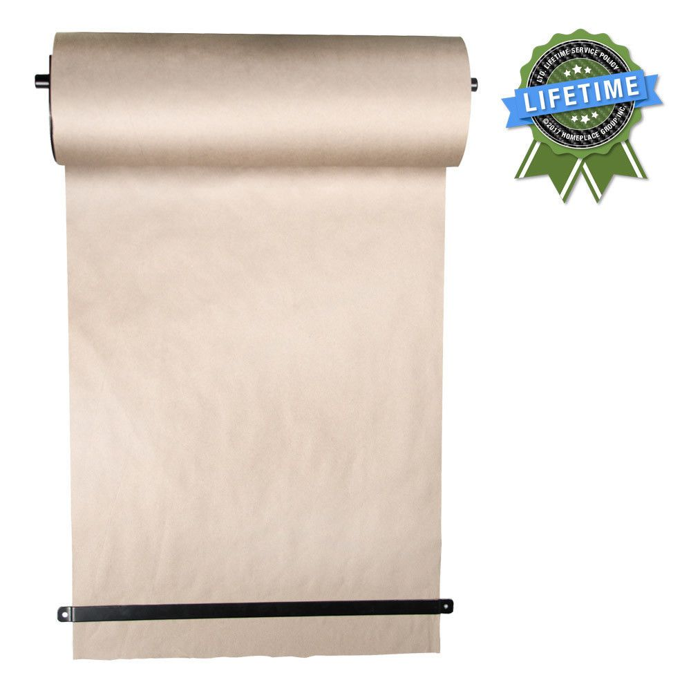 Thinkscroll 24 Wall Mounted Kraft Paper For Art To Do Lists Menus Graffiti Thinkscroll Paper Roll Holders Roll Holder Paper Dispenser