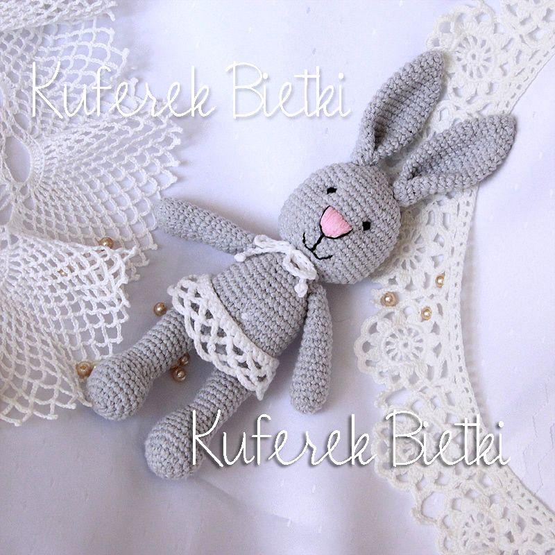 Mały króliczek/ kleine Hase - 28cm