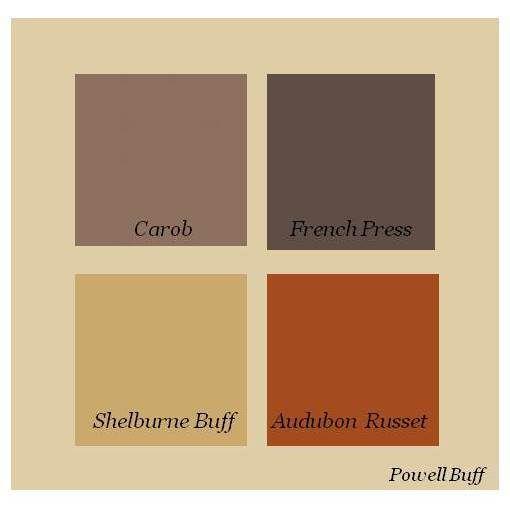 Audubon Russet Complements Paint Themes Colors Grey Craftsman Bungalow Exterior