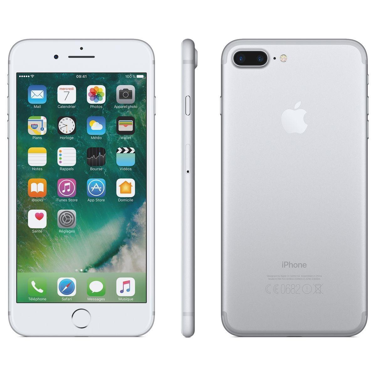 Iphone 7 Plus 128gb Argent Iphone 7 Plus Iphone Et Apple Iphone
