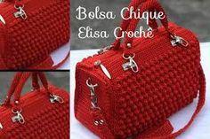 Bolsa Vermelha em Crochê Passo a Passo