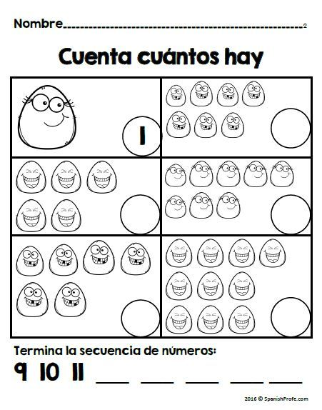 Back To School Math In Spanish For 1st Matematicas Regreso A Clases