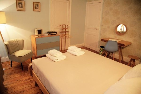 Chez Ric et Fer Luxury Bed and Breakfast Located in Northern France - Picardie - Aisne. The Bedroom