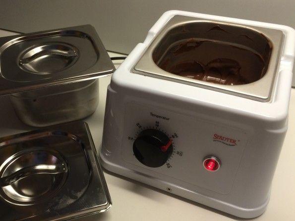 Schokoladen temperiergerät