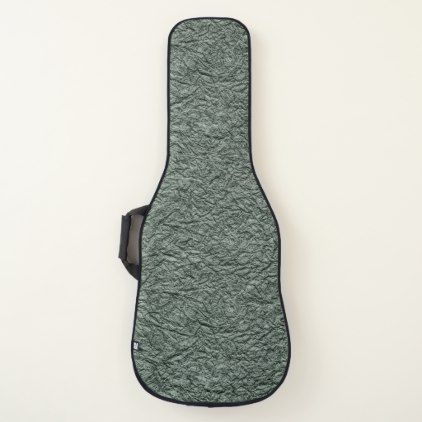 Grey Embossed Look Texture On Acoustic Or Electric Guitar Case