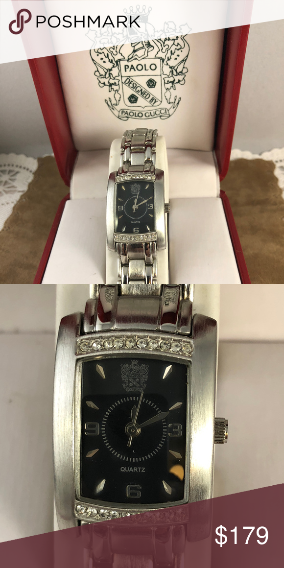 d72d28a5e81 New ladies Paolo Gucci Watch Stainless Steel NIB New ladies stainless steel  Paolo Gucci watch. The watch is brand new in the Paolo Gucci Box and has  never ...