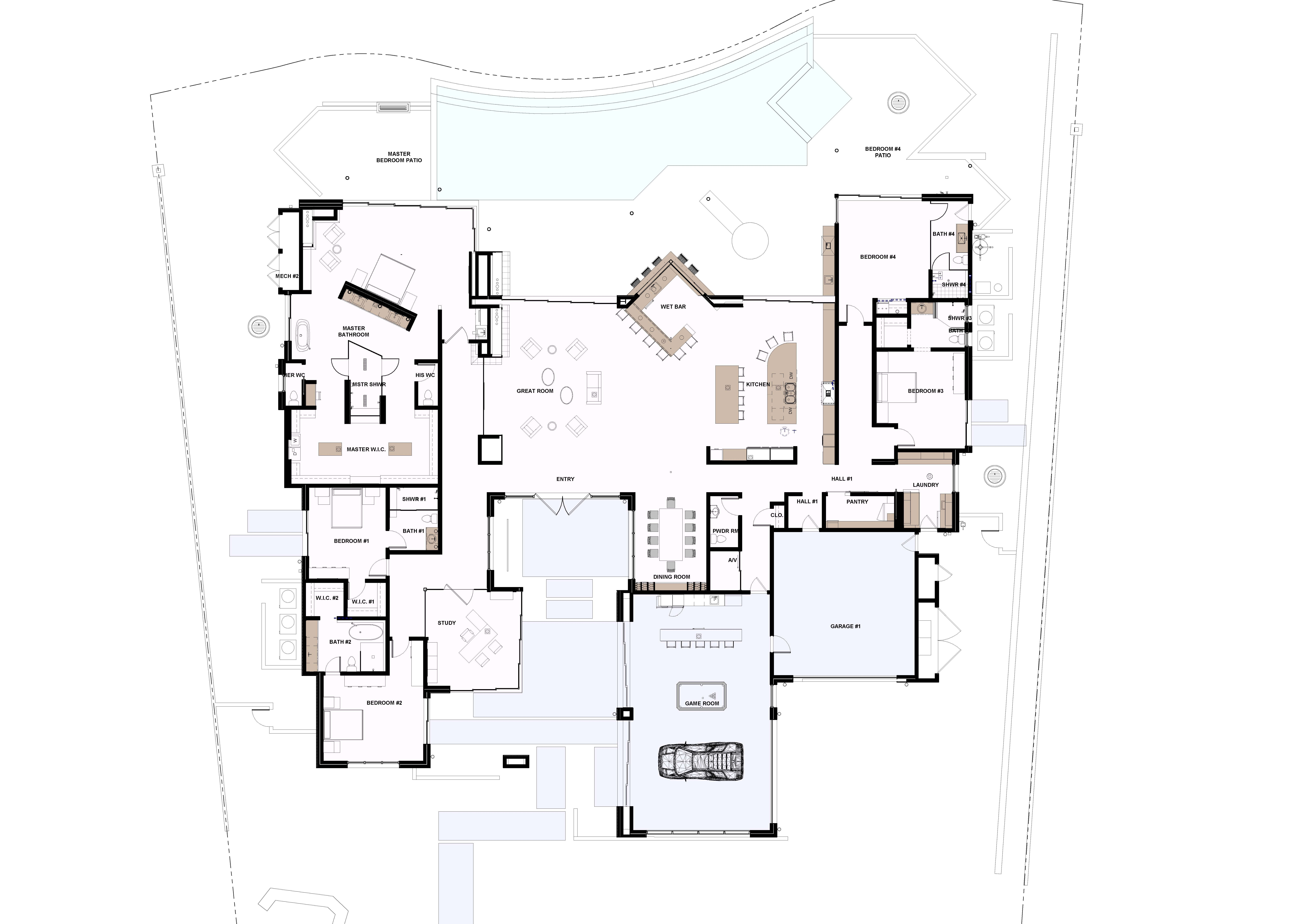 2019 The New American Home Floor Plan The New American Home House Floor Plans Floor Plans How To Plan