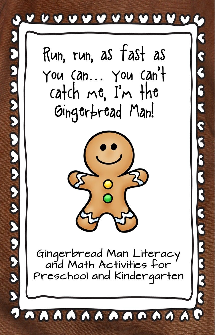 Math And Literacy Activities To Go Along With The Gingerbread Man Story Gingerbread Man Math Activities Gingerbread Man Gingerbread Man Math [ 1344 x 864 Pixel ]