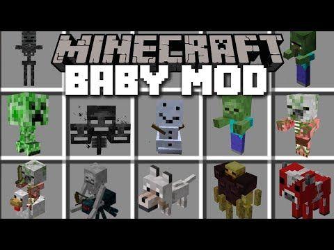 Minecraft BABY MOBS MOD / HELP FIND THEIR PARENTS Minecraft