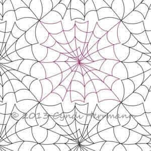 Spider Web Block Or Panto Long Arm Inspiration Quilt