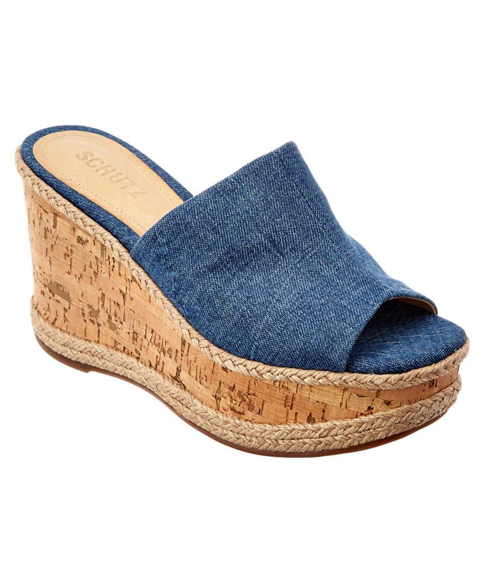 f745be9b2 SCHUTZ Schutz Josey Wedge'. #schutz #shoes #sandals | Schutz