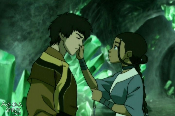Katara almost destroyed the world . . . We didn't know it at the time, but just think: what if??