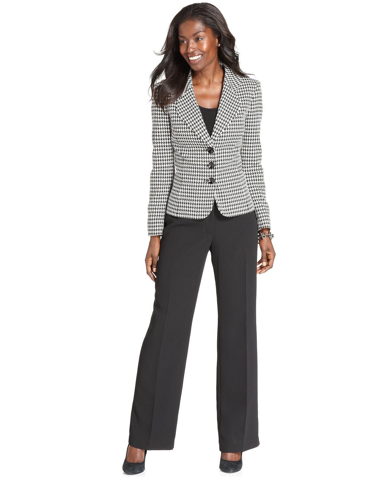 Kasper Suit Separates Collection - Wear to Work - Women - Macy's | Suits  for women, Clothes, Suit separates