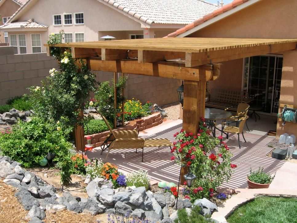 More Beautiful Backyards From Hgtv Fans Landscaping Ideas And Hardscape Design Hgtv Small Backyard Landscaping Backyard Landscaping Designs Backyard Patio