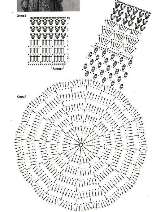 182.jpg (491×685) | Crochet Tops | Pinterest | Blusas, Damas y Cuadro