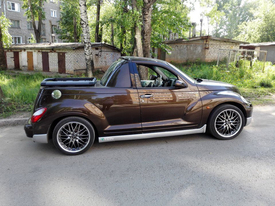 Pt Cruiser Custom Pickup Chrysler Pt Cruiser Cruiser Car Pt