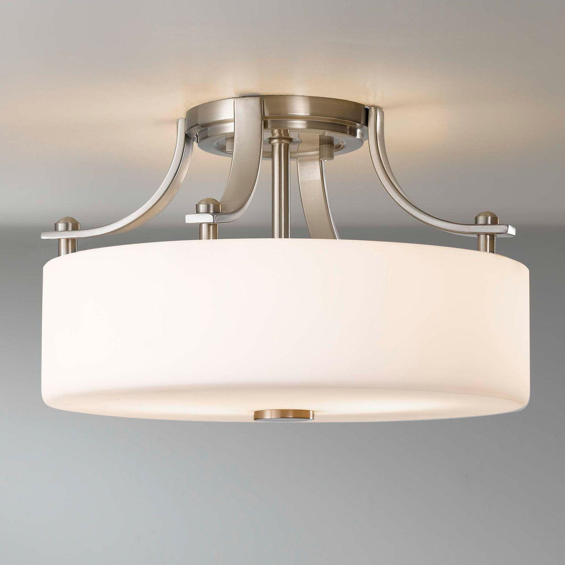 flush mount kitchen ceiling light fixtures