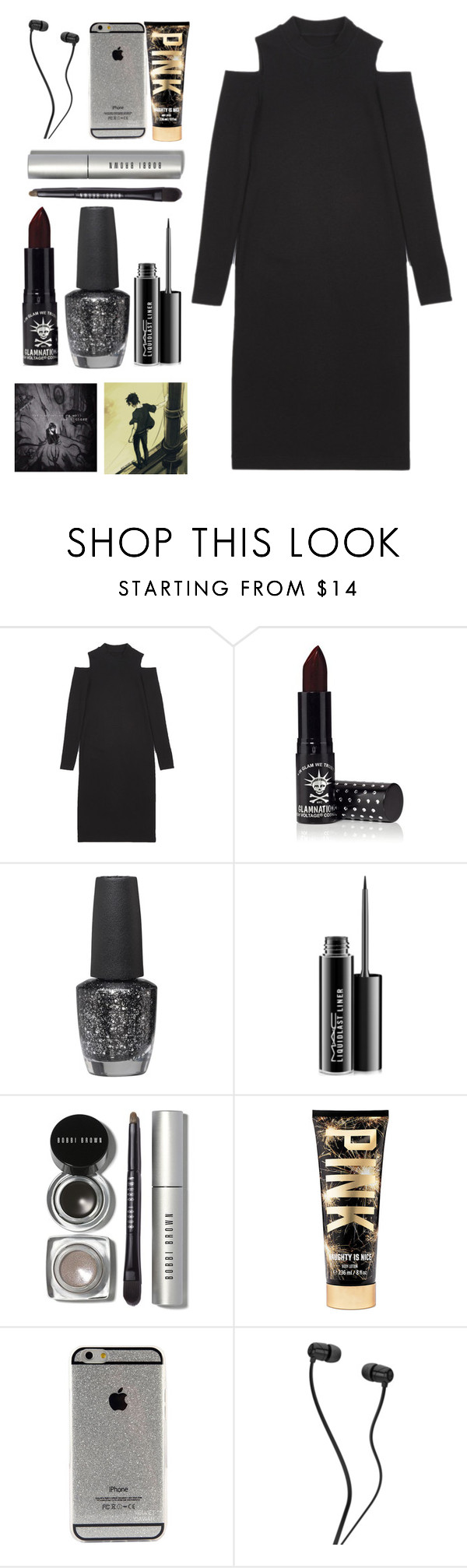 """""""YOUTH"""" by fangirlwriter ❤ liked on Polyvore featuring Manic Panic, OPI, MAC Cosmetics and Bobbi Brown Cosmetics"""