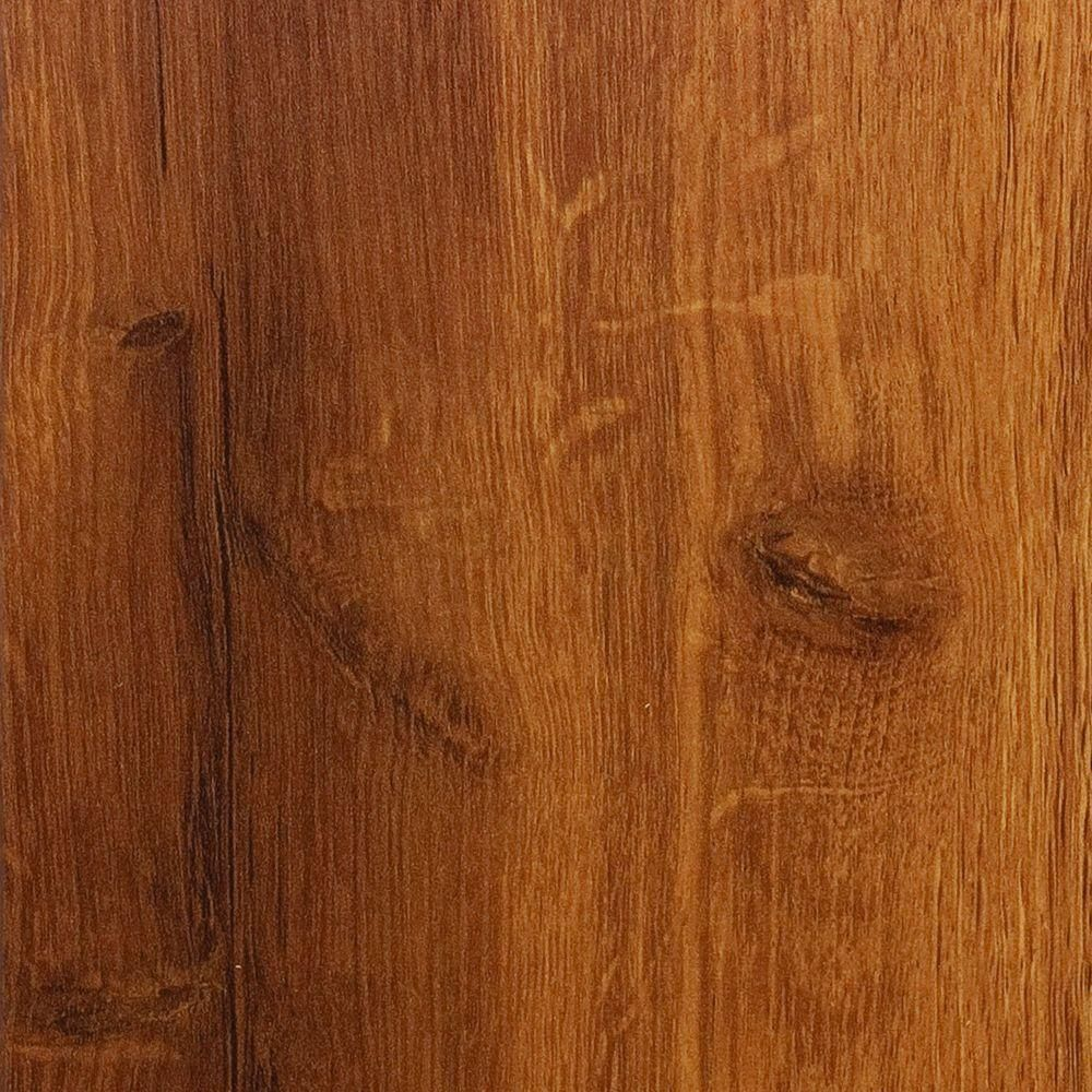 hampton bay high gloss hawaiian koa caramel 8 mm thick x 5-1/2 in