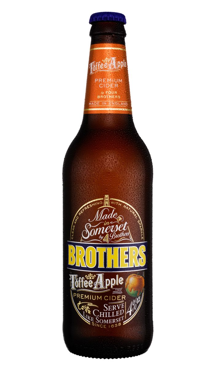 I'm thankful for Brothers Toffee Apple Cider. It tastes like a liquified Caramel Apple Pop, and it'll get you drunk!