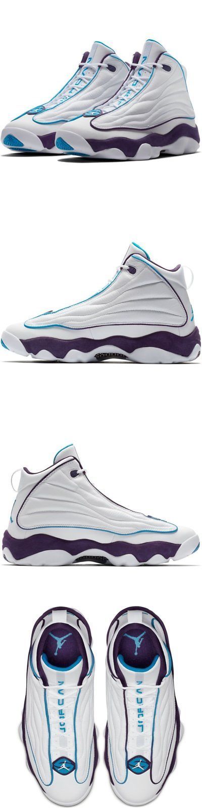 f39e123ce2e77 Athletic 15709  Men Air Jordan Pro Strong White Blue Lagoon 407285-105 -