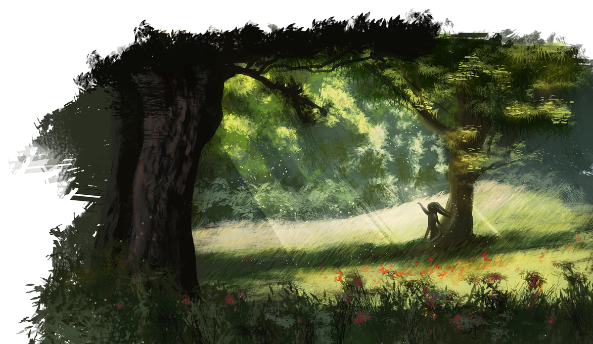 wisp of the forest by Roiuky on DeviantArt