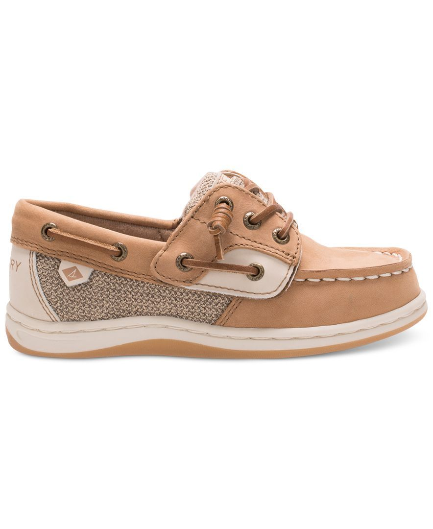Sperry Songfish Jr. Boat Shoes, Toddler & Little Girls - Shoes - Kids &  Baby - Macy's