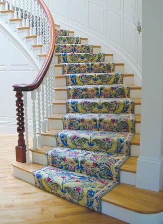 Carpeting Room Settings Gallery Tufted Stair Runner 100 Wool Stair