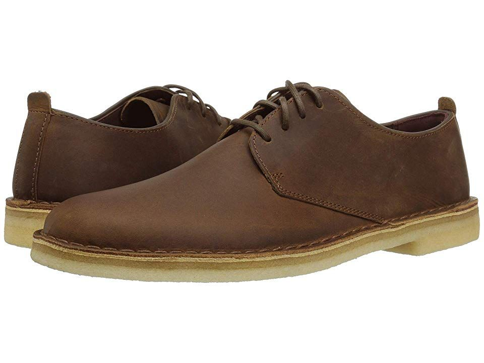 cbc122fc Clarks Desert London Men's Lace up casual Shoes Beeswax in 2019 ...
