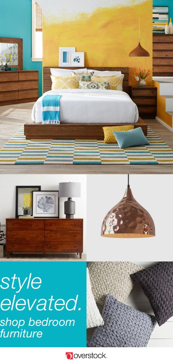 Furniture of America Emallson Rustic Natural Low Profile Bed ...