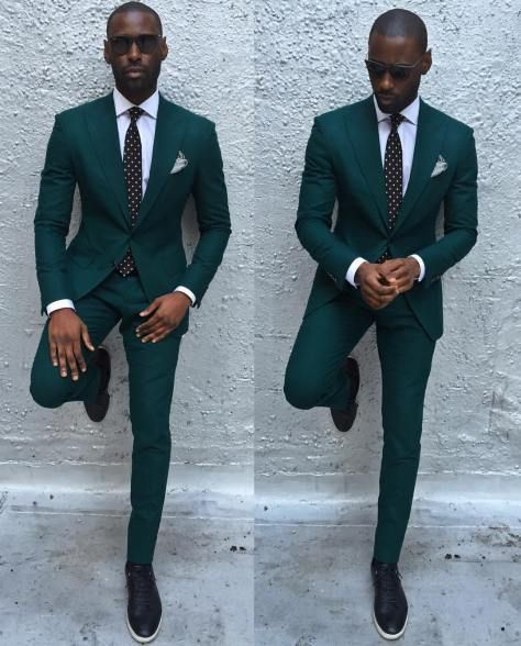 Davidson Frere Green Suits Wedding In 2019 Pinterest Mens
