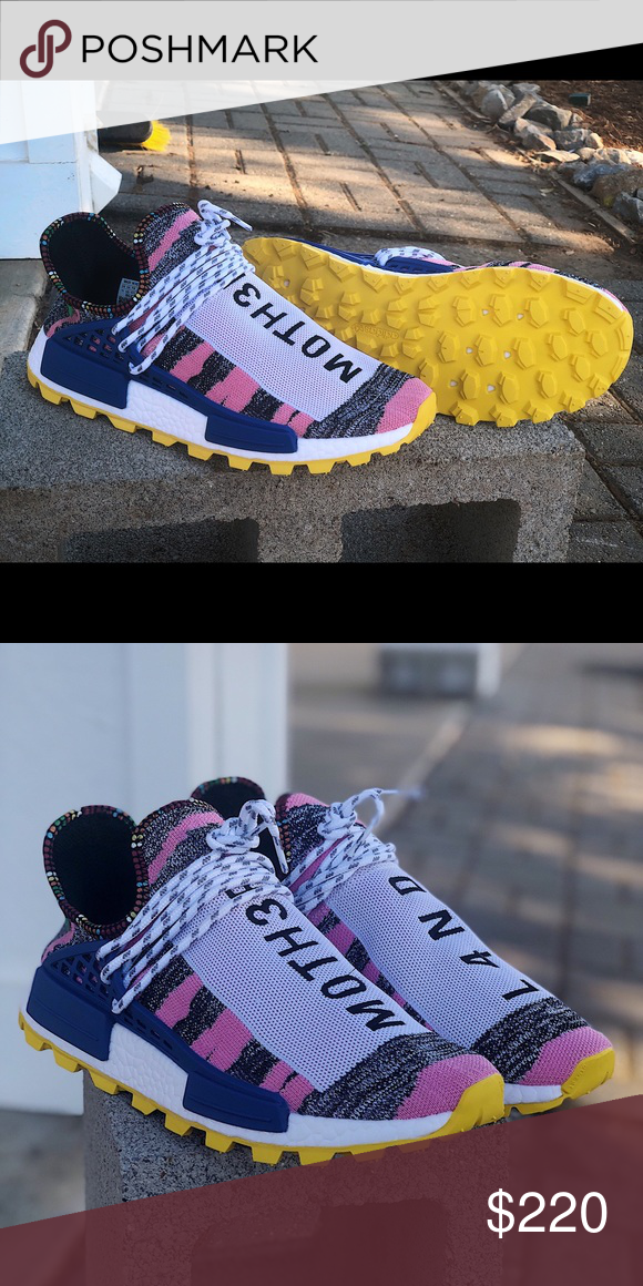 779ae359d Spotted while shopping on Poshmark  Adidas Pharrell HU Human Race Solar