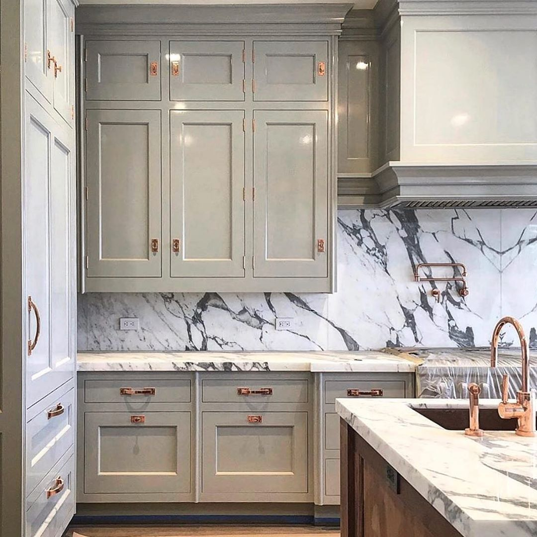 Christopher Peacock On Instagram Always A Great Alternative To White Grey Can Be Just In 2020 Kitchen Design Decor High Gloss Kitchen Cabinets Top Kitchen Designs