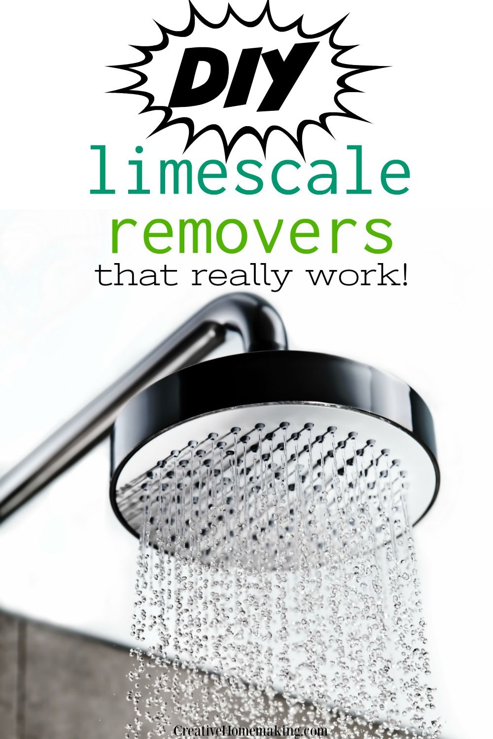 Homemade Limescale Removers That Really Work Creative Homemaking House Cleaning Tips Cleaning Hacks Deep Cleaning