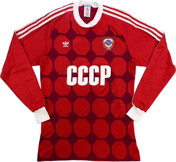 0a3f7be06 Adidas 1989 Soviet Union Match Issue Home Shirt