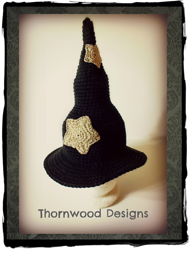 Witch Hat Pattern Pattern By Nan Sovde Crochet Halloween