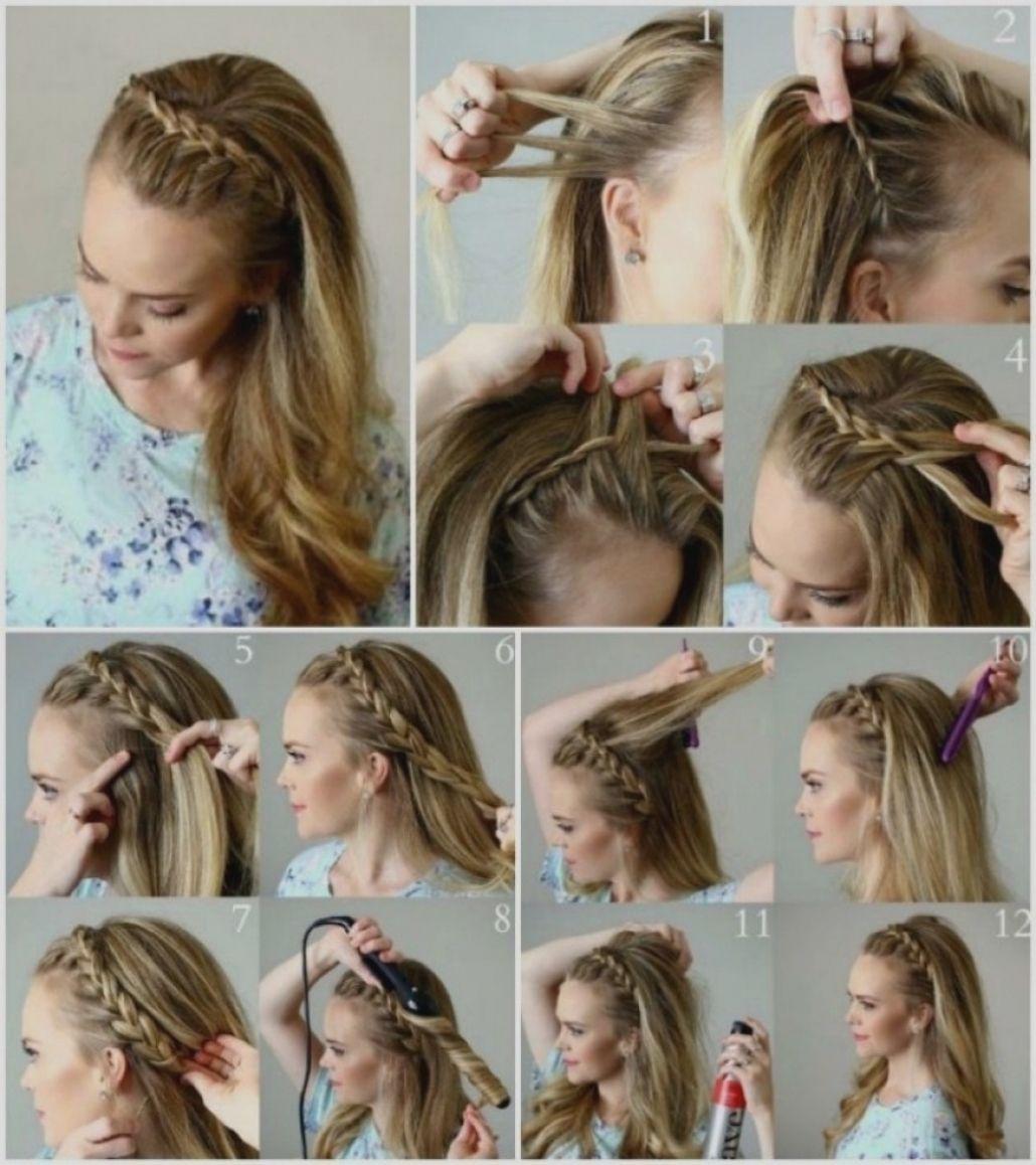 Schone Flechtfrisuren Lange Haare Selber Machen Frisuren Lange Haare