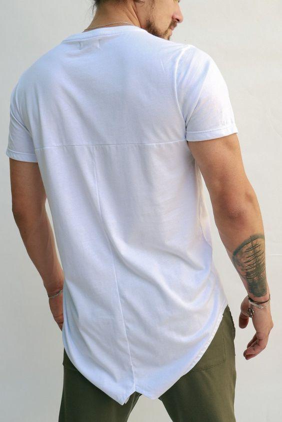 Camiseta Cola Partida