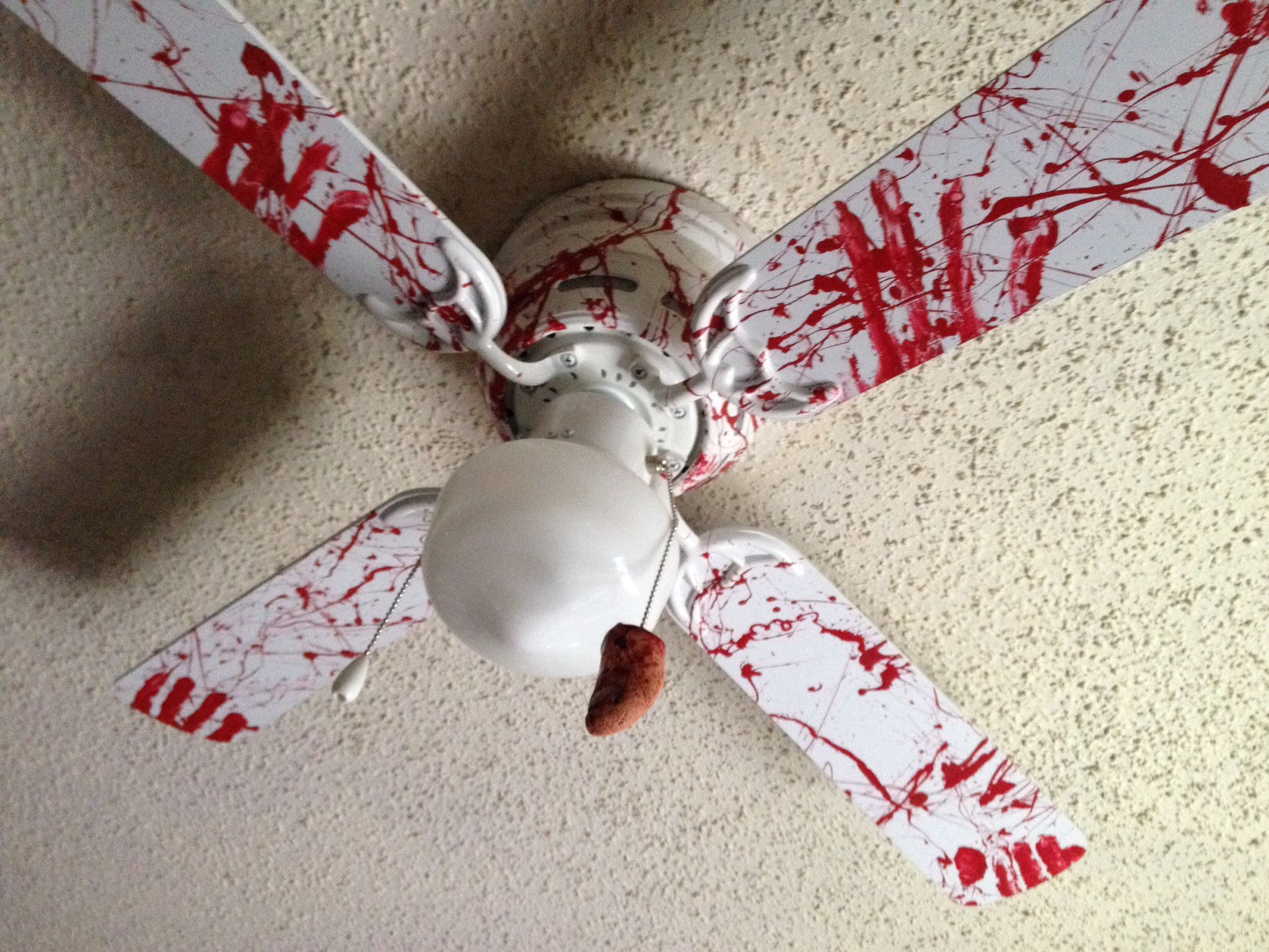 Our new ceiling fan for the office disturbia pinterest our new ceiling fan for the office mozeypictures Image collections