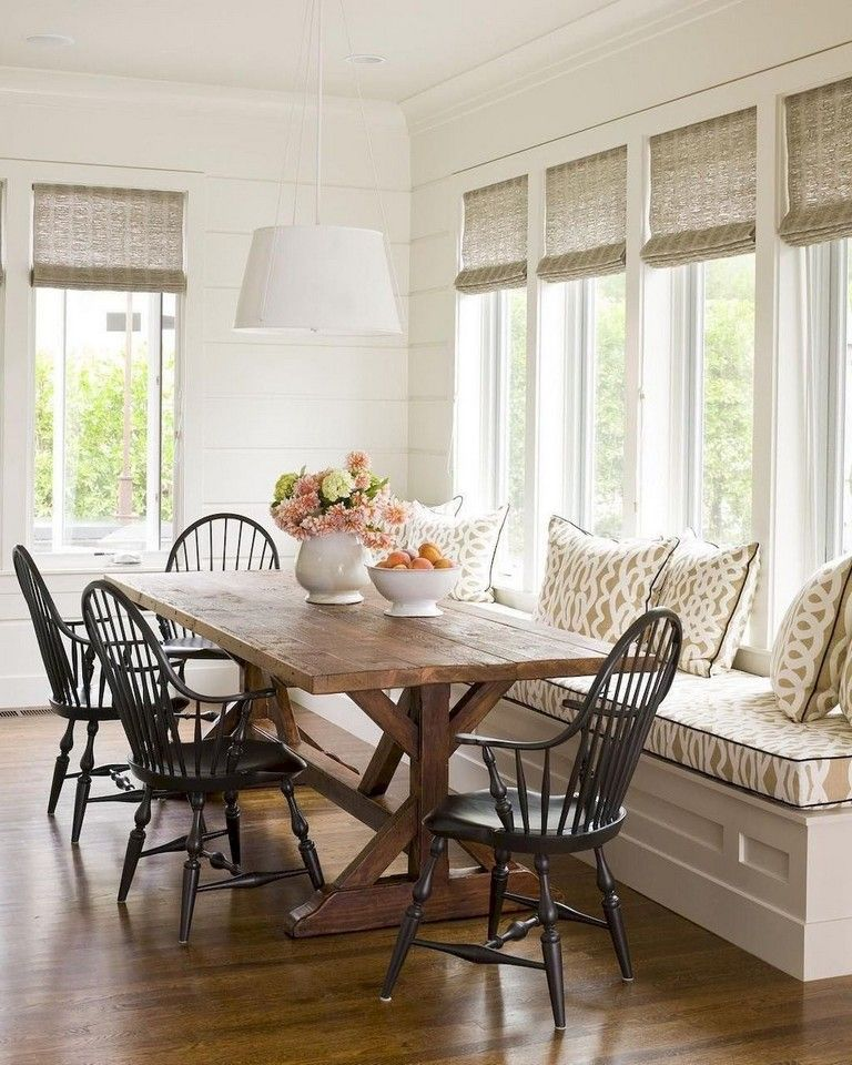 58+ Comfy Farmhouse Sunroom Makeover Decor Ideas images