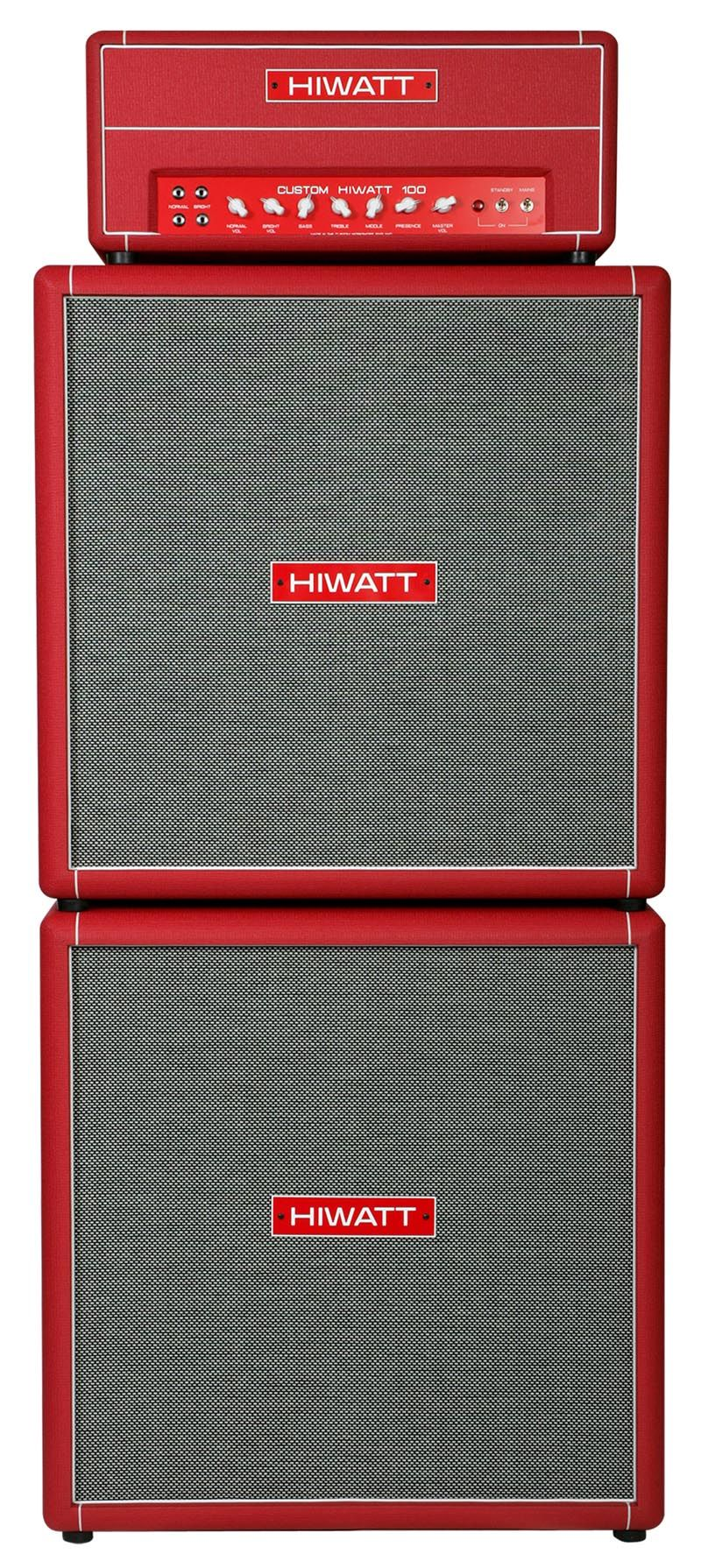 hiwatt custom 100 full stack full red some nice looking amps amp settings guitar amp. Black Bedroom Furniture Sets. Home Design Ideas