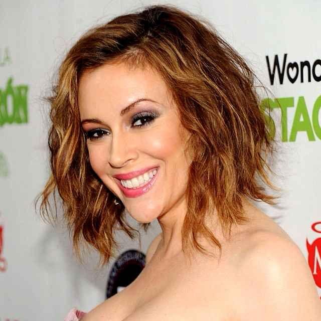 Alyssa Milano vous présente sa nouvelle coupe de cheveux ...