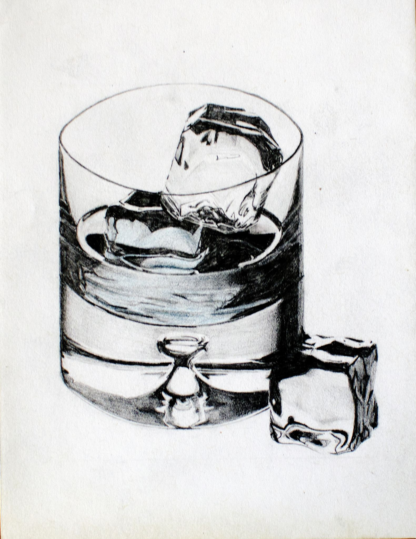 glass of whiskey ice cubes tattoo design my art pinterest tattoo designs tattoo and tatt. Black Bedroom Furniture Sets. Home Design Ideas