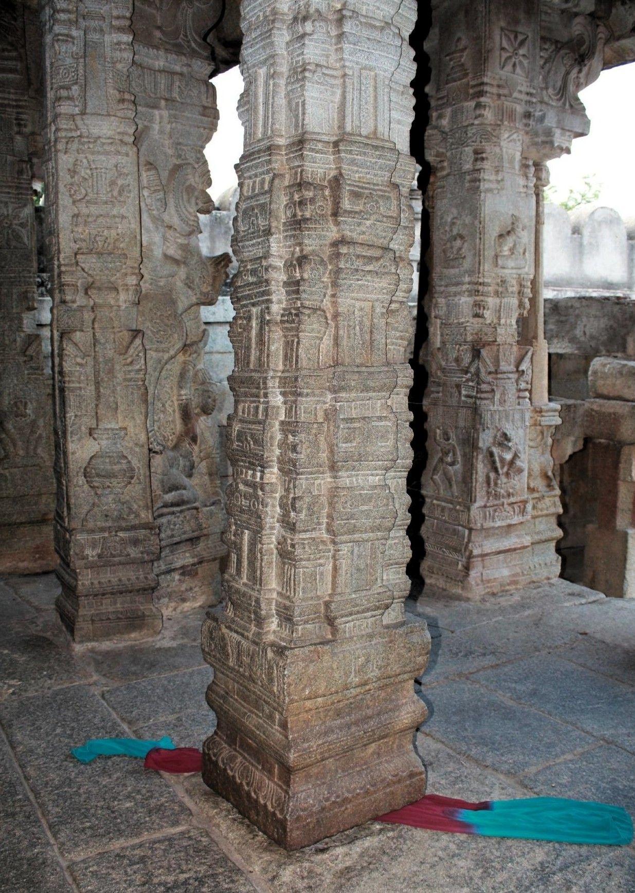 iXiAmazing The Floating Pillar of the Veerabhadra temple