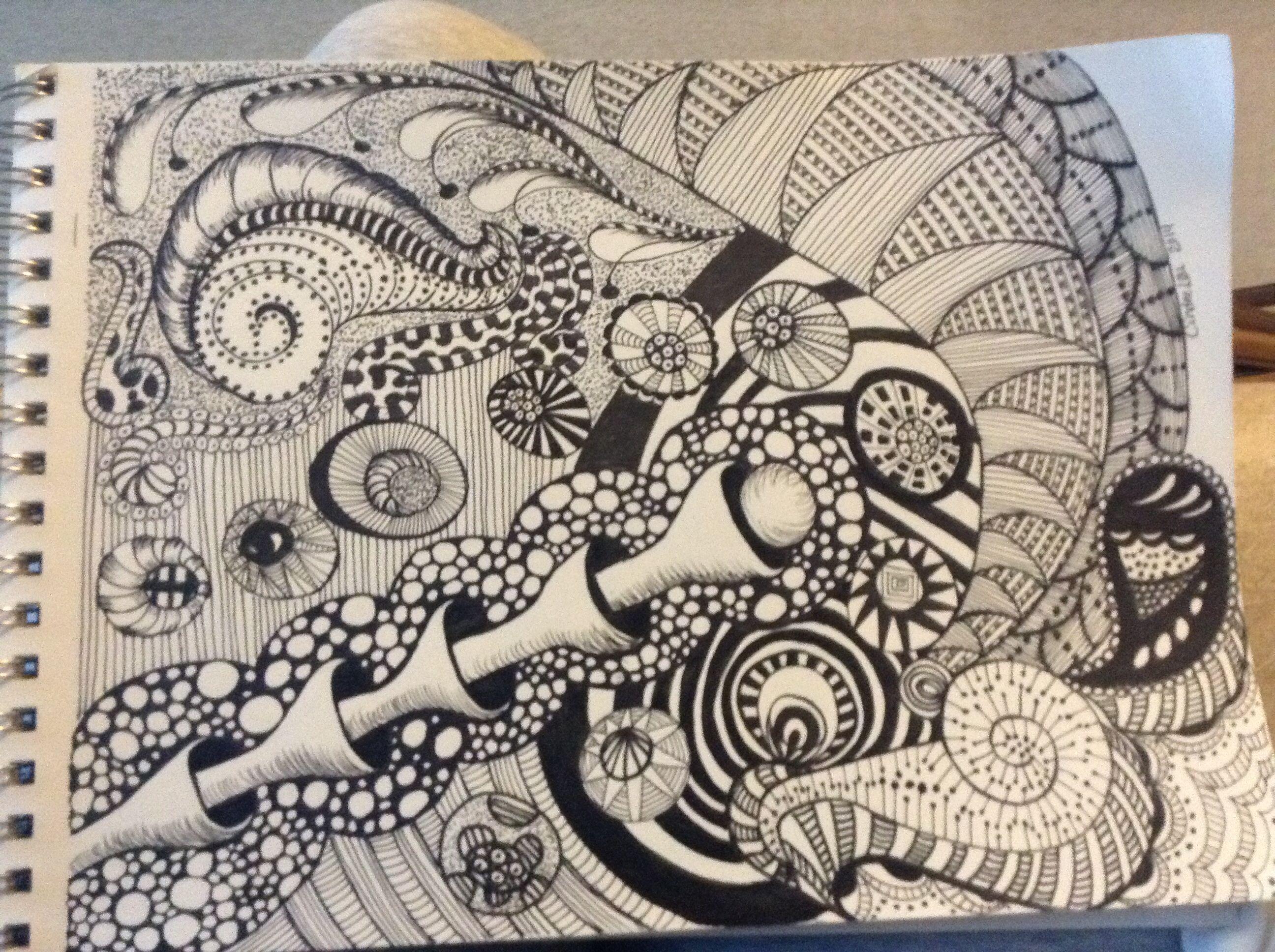 Random Zen My Arts Drawings Art