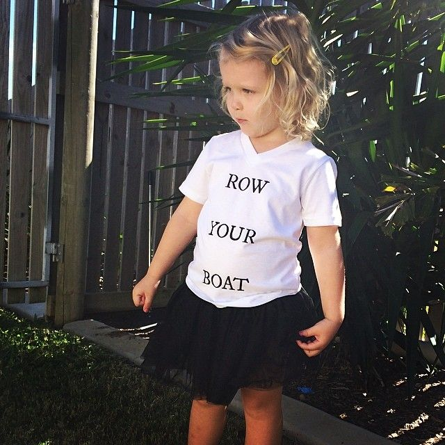 ROW YOUR BOAT T-Shirt from www.frankiebaby.com.au for only $19.95AU