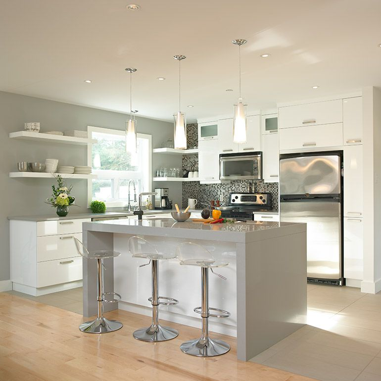 Fabricant de cuisines cuisines beauregard cuisine kitchen grey kitchens et home kitchens for Fabricant cuisine design