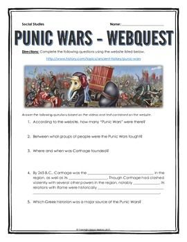 a history of the punic wars Carthage vs rome the punic wars over the course of one-hundred years the mediterranean antiquity was rocked by an ancient cold war between the north african seafaring state of carthage, and the newly rising city of.